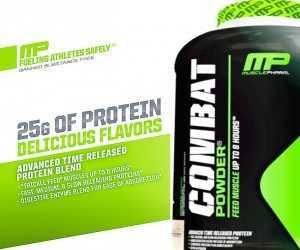Cheap MusclePharm Combat Protein Deals