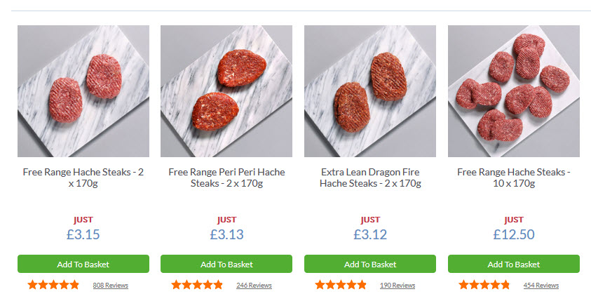 Hache Steaks UK