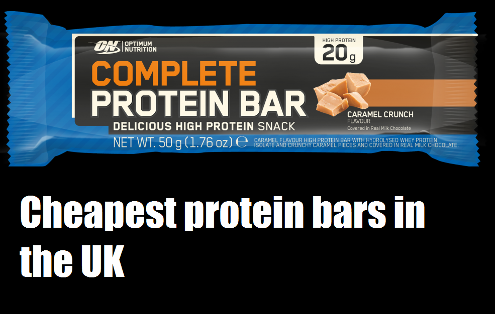 cheapest protein bars in the UK