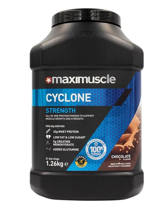 Maximuscle Cyclone 1.26kg Chocolate