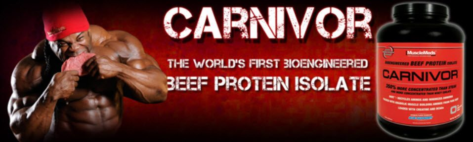 MuscleMeds Carnivore Beef Protein Powder