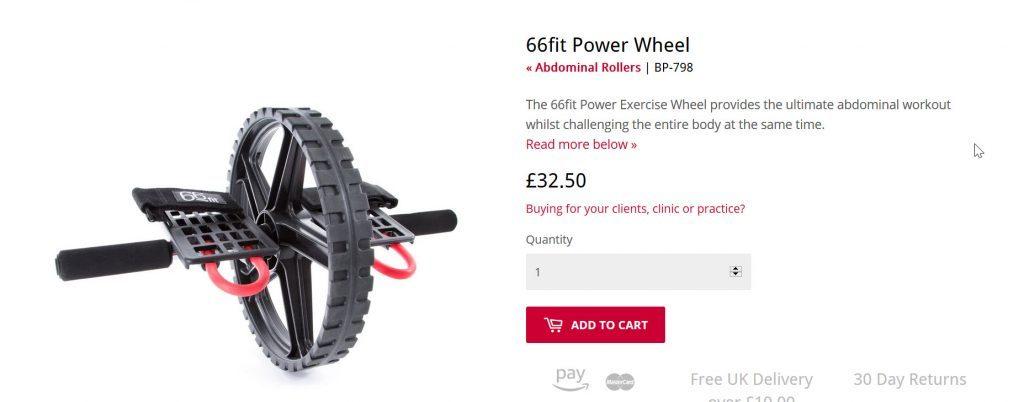 66 fit ab wheel