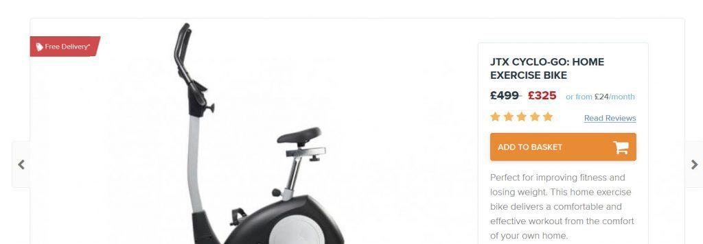 JTX indoor bike