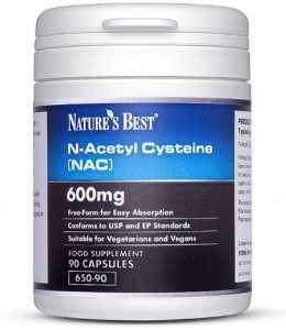 Natures Best N-Acetyl Cysteine NAC 90 Capsules