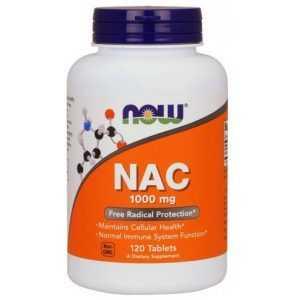 NOW NAC 1000mg Free Radical Protection