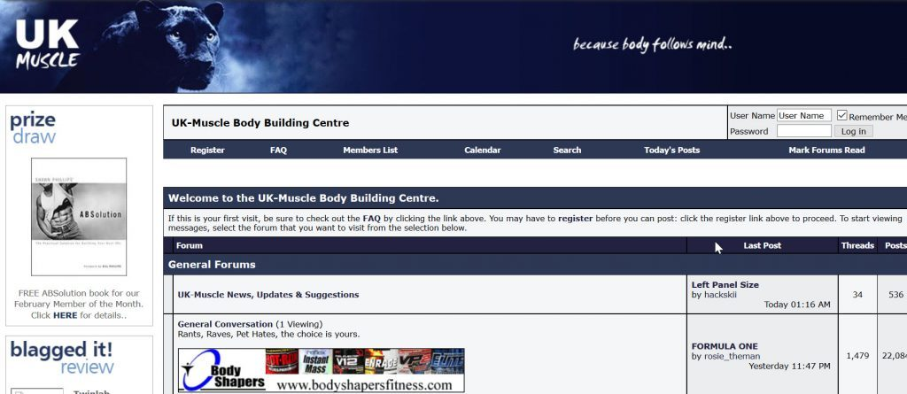 UK muscle 2nd design