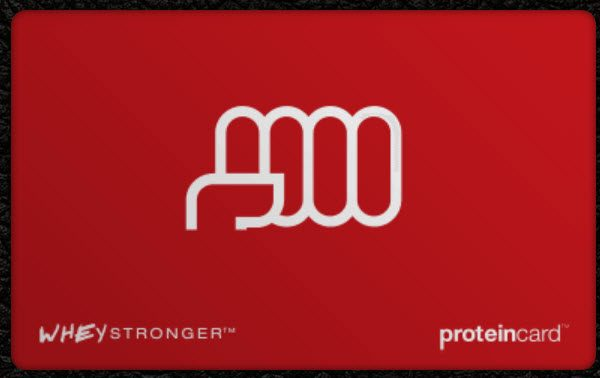 The new Protein Card