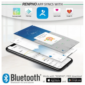 Renpho Smart Weighing Scales App Syncing