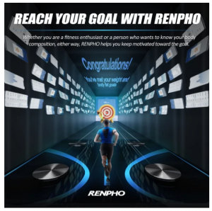 Renpho Bluetooth Scale getting you to your body fat goal