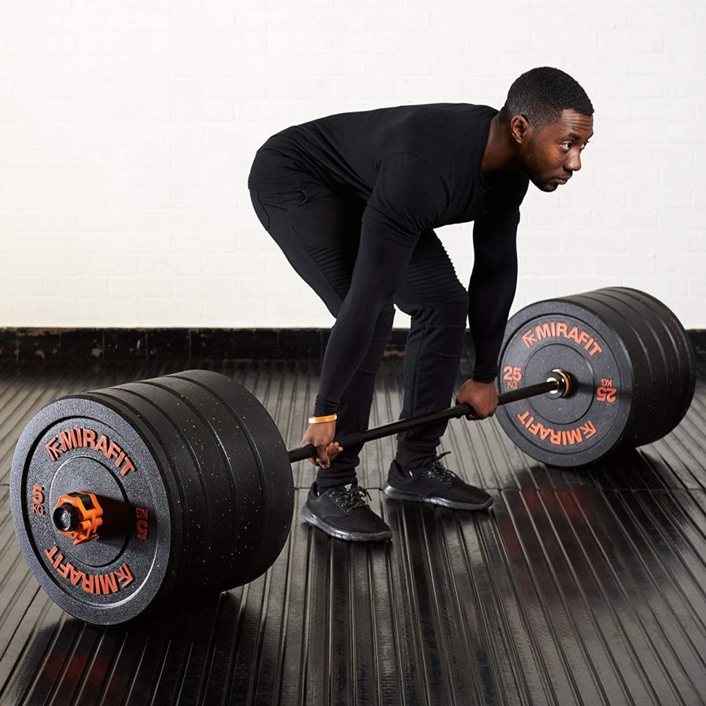 Rubber Crumb Bumper Plates From Mirafit Review UK