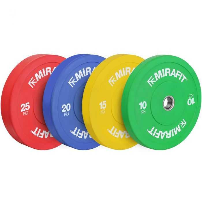 Mirafit Rubber Crumb 10kg 15kg 20kg 25kg Bumper Plates