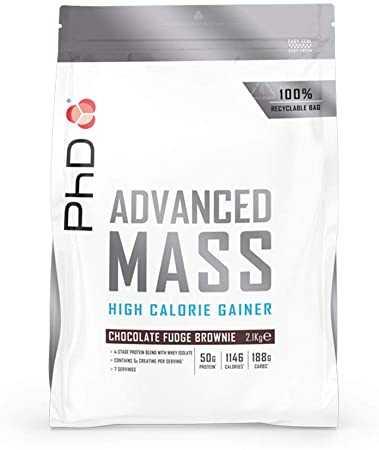 PHD Advanced Mass High Calorie Mass Gainer