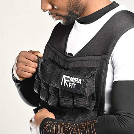Mirafit Adjustable Weighted Vest 10kg