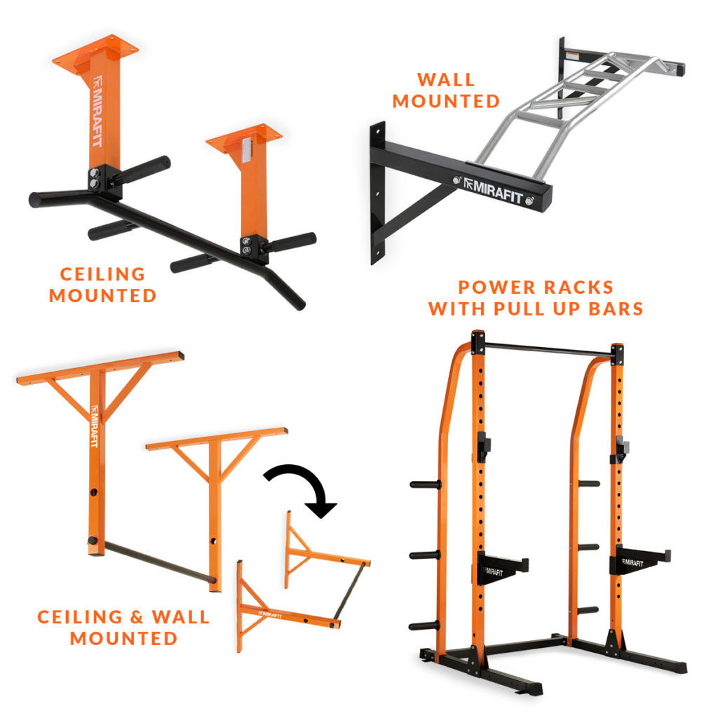 Mirafit Ceiling & Wall Stud Mounted Pull Up Bar Buy