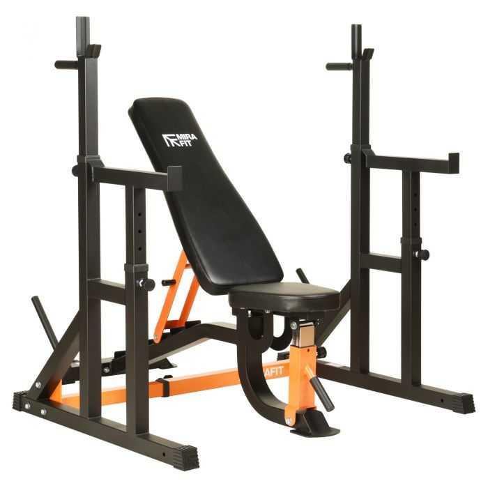 Mirafit M1 Adjustable Squat Rack With Spotters UK Price