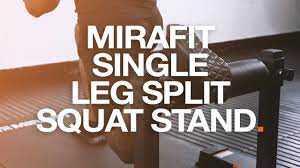 Mirafit Single Leg Split Squat Stand