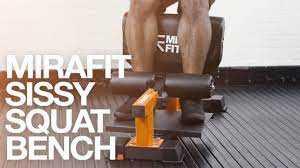 Mirafit Sissy Squat Bench For Sale UK
