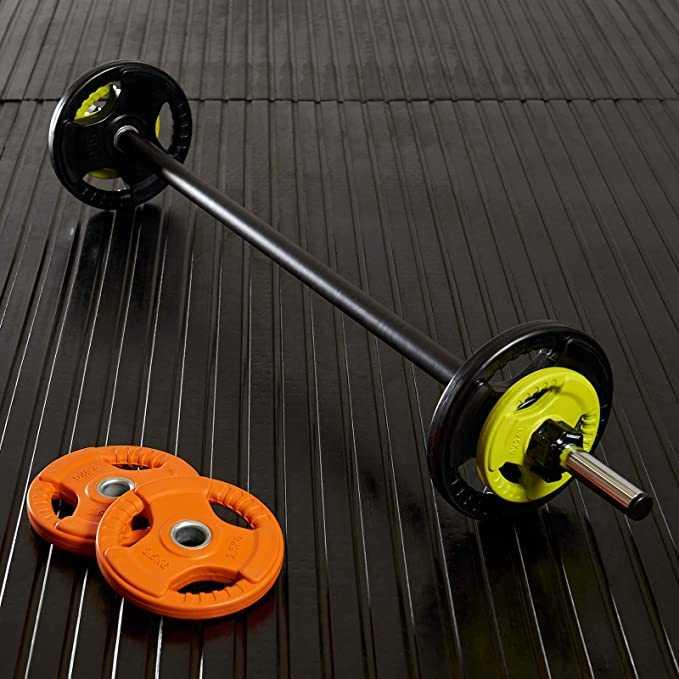 Mirafit Studio Weight Rack with 12 Studio Pump Sets in Stock
