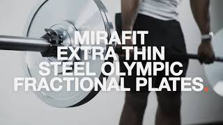 Mirafit Extra Thin Steel Olympic Fractional Plates