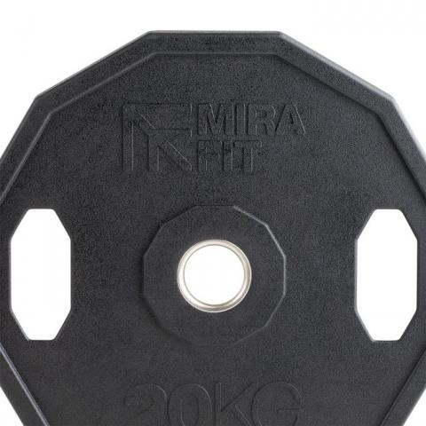 Mirafit Hex Olympic Weight Plates UK For Sale