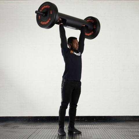 Mirafit 87 Strongman Log with Standard Sleeves UK