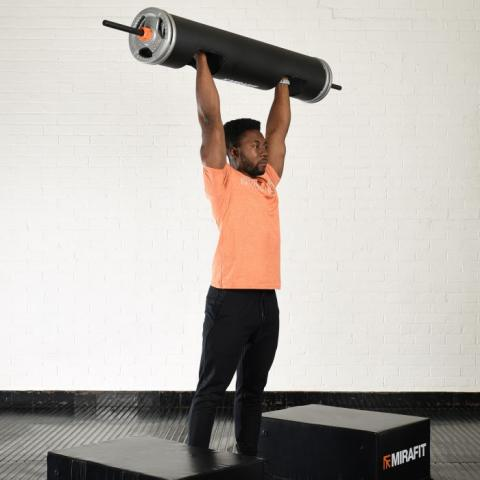 Mirafit 87 Strongman Log with Standard Sleeves