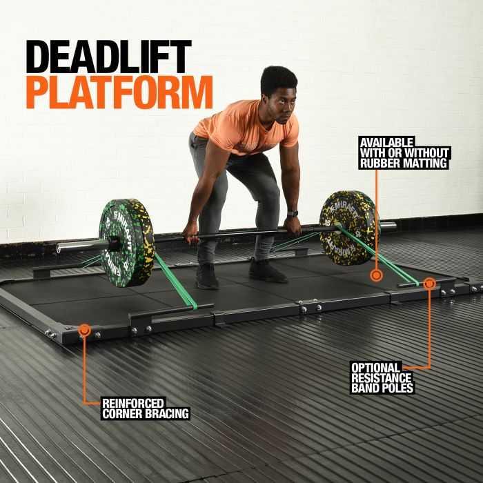 Mirafit Deadlift Platform