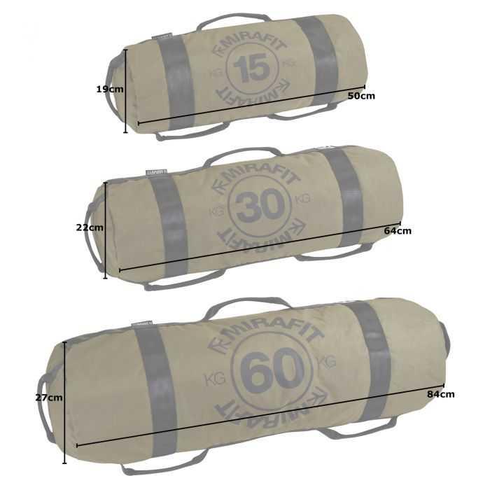Mirafit Multi Grip Workout Sandbags UK