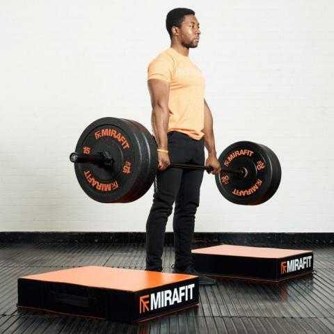 Mirafit Weightlifting Drop Pads